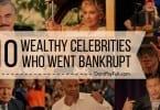 wealthy celebrities who went broke
