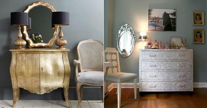 diy glitter furniture. 30 Most Beautiful DIY Glitter Diy Furniture
