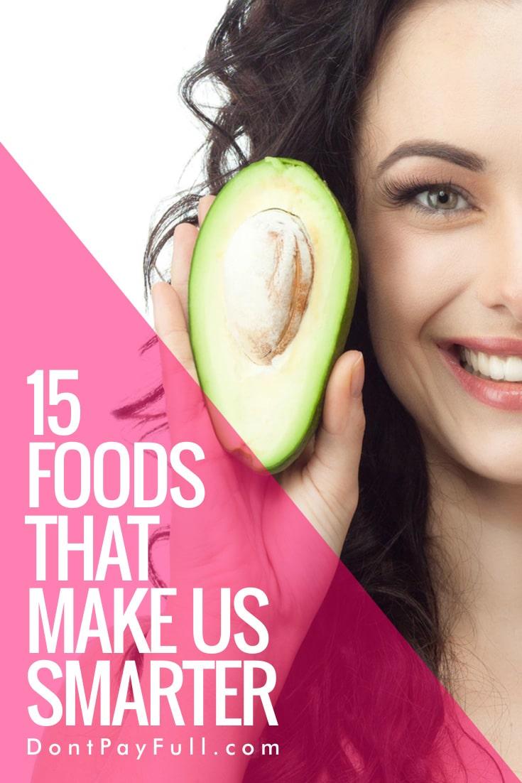 15 Foods That Make Us Smarter