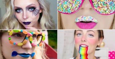 10 Super Easy Makeup Tutorials for Halloween