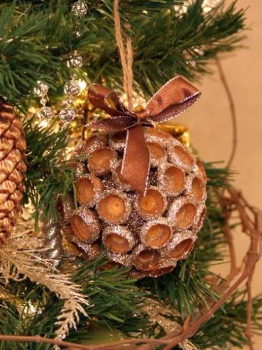 Acorn Cap Ornament