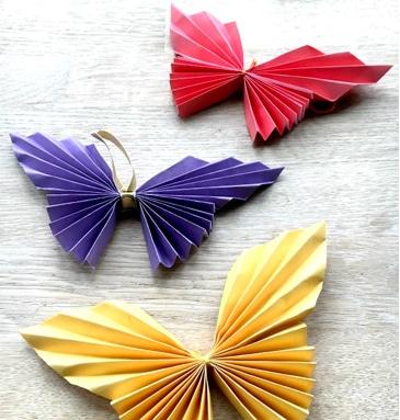DIY Spring Butterflies
