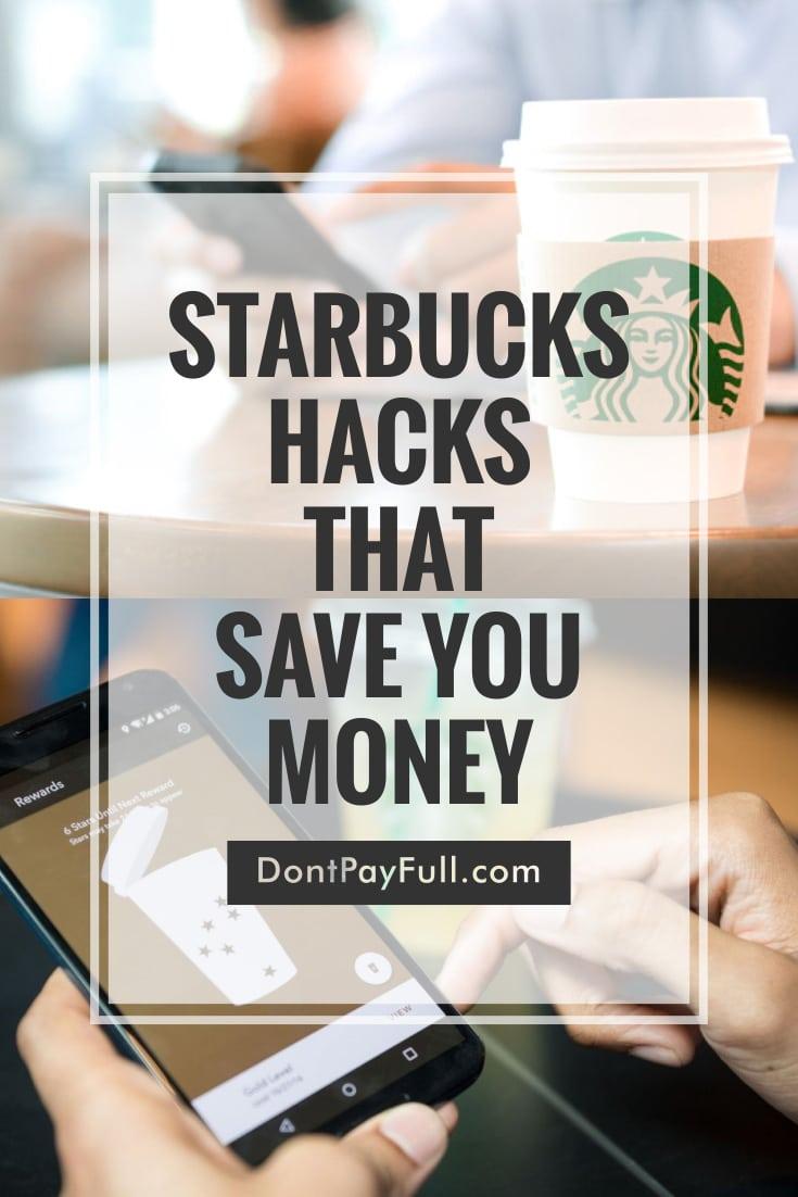 Starbucks Money Saving Hacks