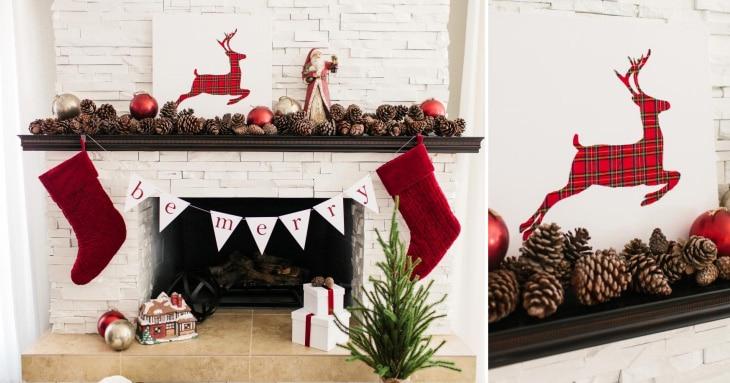 DIY - Reindeer Artwork