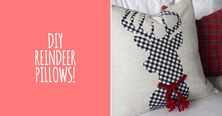 DIy - Reindeer Pillow
