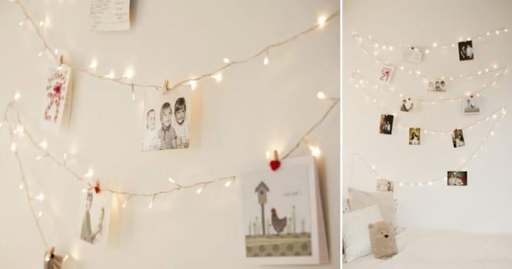 DIY - Fairy Light Wall