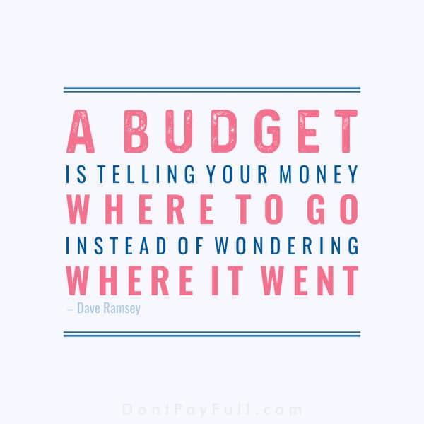 Saving Money Quote