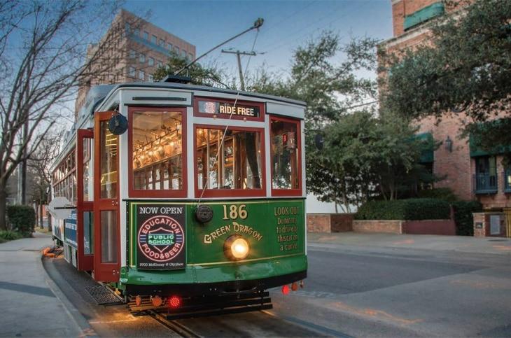 McKinney Avenue Trolley Rides Dallas