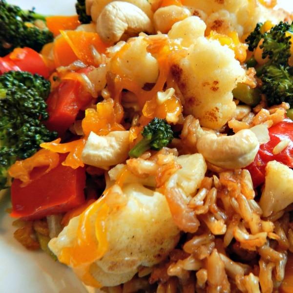 Cheap Healthy Meal: Vibrant Vegetarian Casserole
