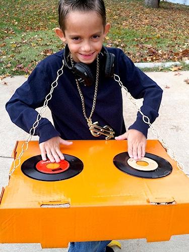 DIY DJ Costume