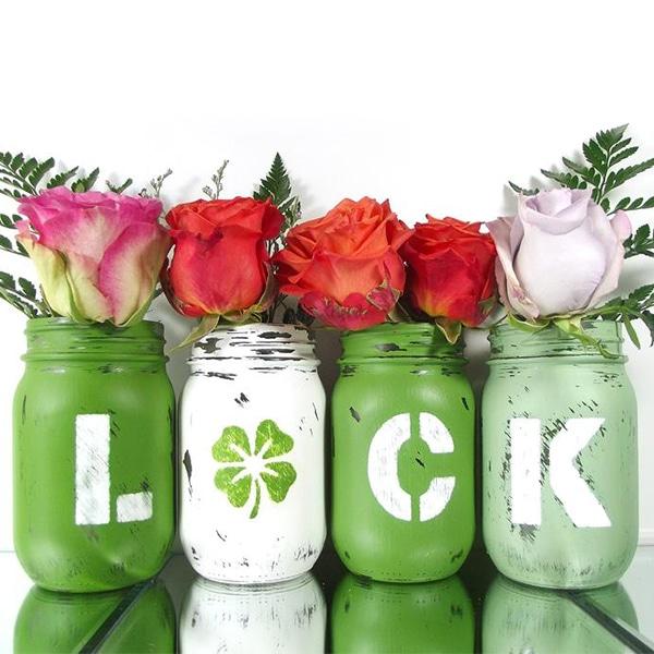 Luck Mason Jars