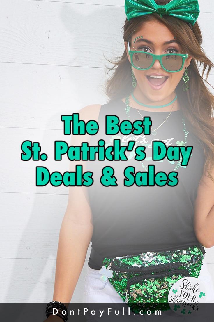 St. Patrick's Day Deals Pinterest Image
