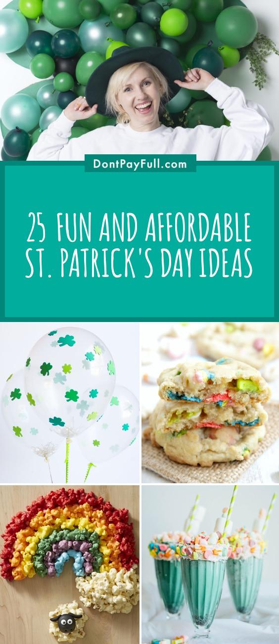 St Patricks Day Ideas Pinterest Image